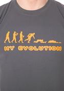 nézet - My Evolution férfi póló