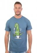 náhled - Rex problémája férfi póló kék