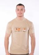 nézet - Parti az erdőben férfi póló