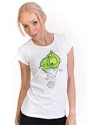 náhled - Hibajavító női póló fehér