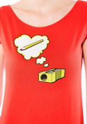 náhled - Hegyező női póló