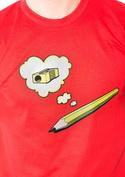nézet - Ceruza férfi póló