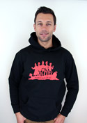 nézet - Punk's not dead férfi pulóver