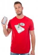 náhled - Wrong apple férfi póló piros