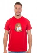 náhled - Ingyen ölelés férfi póló piros