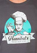 náhled - Hannibálnál férfi póló