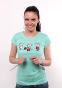 náhled - A gyapjú körforgása női póló