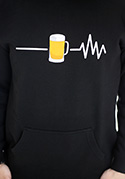 nézet - Beer help férfi pulóver