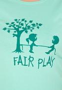 nézet - Fair play női póló zöld