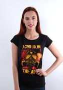 nézet - Love is in the air női póló
