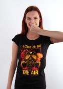 náhled - Love is in the air női póló
