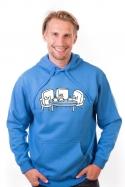 náhled - Elválaszthatatlan haverok férfi pulóver