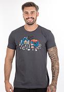 náhled - A szuperhősök harca férfi póló