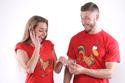 nézet - Friss házasok férfi póló