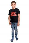 náhled - Punk's not dead gyerek póló