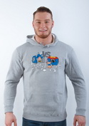 náhled - A szuperhősök harca férfi pulóver