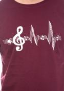 náhled - A zene az életem férfi póló lila