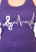 náhled - A zene az életem női ujjatlan póló