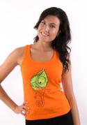 náhled - Hibajavító női ujjatlan póló narancs