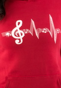 náhled - A zene az életem női pulóver
