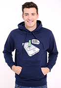 nézet - Wrong apple férfi pulóver