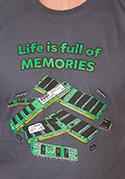 nézet - Memóriában tárolva férfi póló