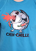 náhled - Chinchilli férfi póló kék
