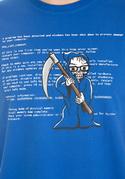 nézet - Kék halál férfi póló