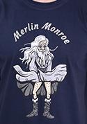 náhled - Merlin Monroe férfi póló