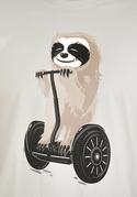 nézet - Lajhár férfi póló szürke