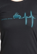 náhled - Coffee help női póló
