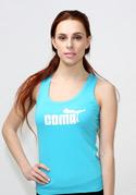 náhled - Coma női ujjatlan póló kék