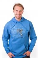 nézet - Kék halál férfi pulóver