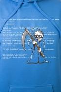 náhled - Kék halál férfi pulóver