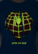 náhled - Spider inside férfi póló