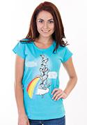náhled - Hogyan készül a szivárvány női póló