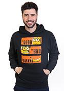 nézet - A Jó, a Rossz és a Banán férfi pulóver