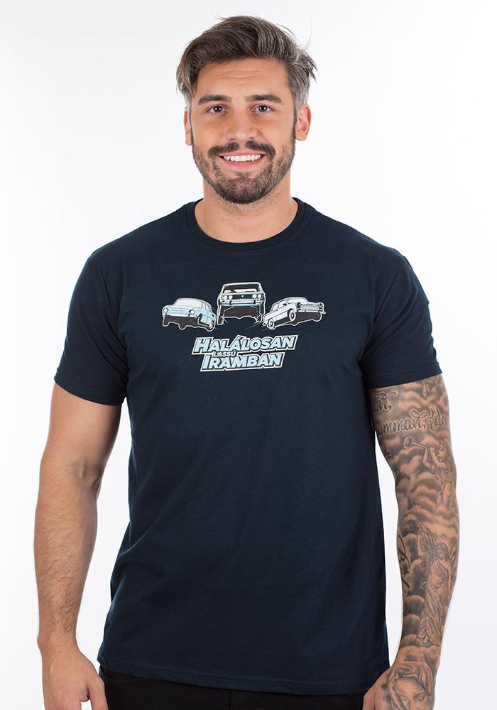 autós ajándék póló