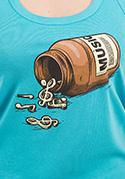 nézet - Music pills női ujjatlan póló