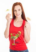 nézet - Cocktail női ujjatlan póló