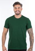 náhled - Férfi póló sötétzöld