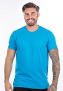 nézet - Férfi póló türkizkék