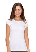 náhled - Hagyományos szabású női póló fehér