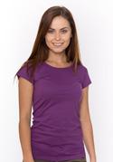 náhled - Hagyományos szabású női póló ibolya