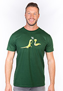 náhled - High Five férfi póló zöld