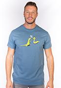 náhled - High Five férfi póló kék