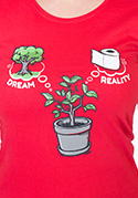 nézet - Dreams női póló