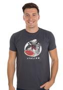 náhled - Italien férfi póló szürke