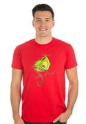 náhled - Hibajavító férfi póló piros
