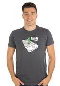 náhled - Wrong apple férfi póló szürke